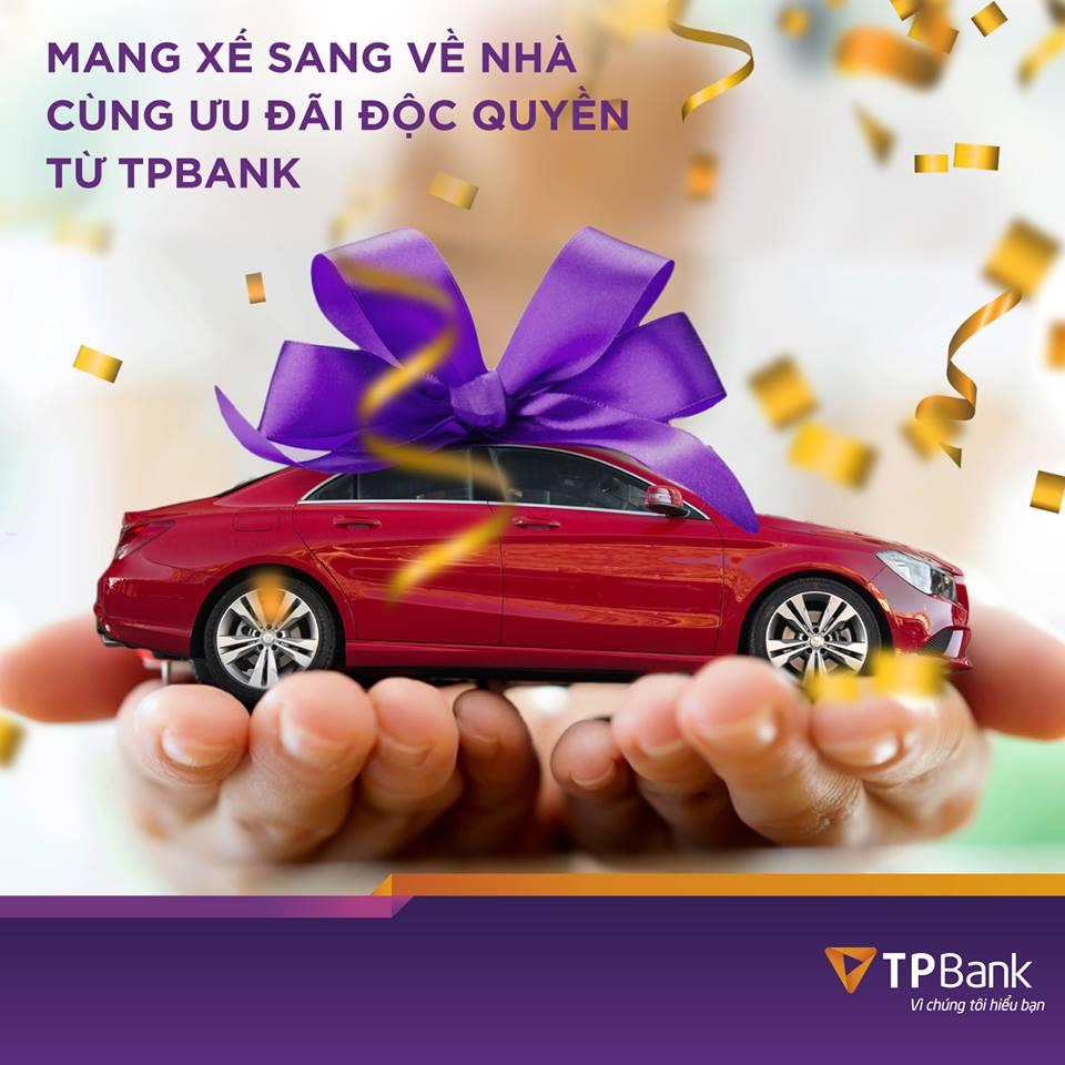 Vay mua xe tối đa 7 năm tại TPBank - ảnh minh họa
