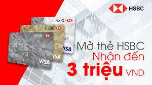 Các loại thẻ tín dụng HSBC