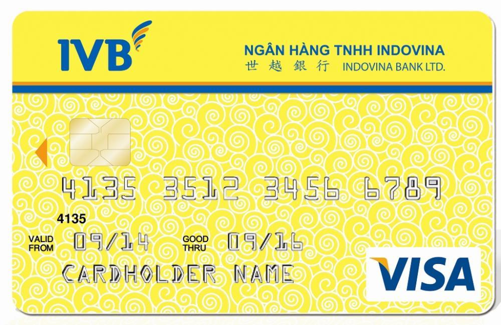 Thẻ tín dụng Indovinabank hạng vàng