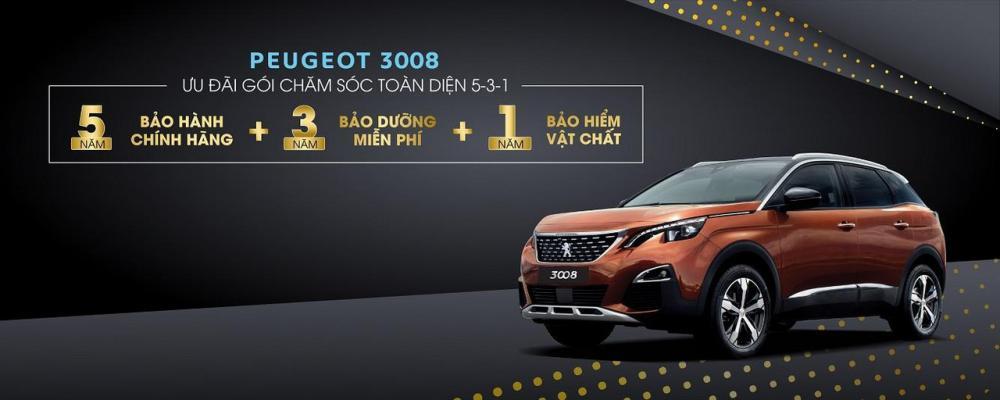 Peugeot 3008 nhận khuyến mại - ảnh minh họa