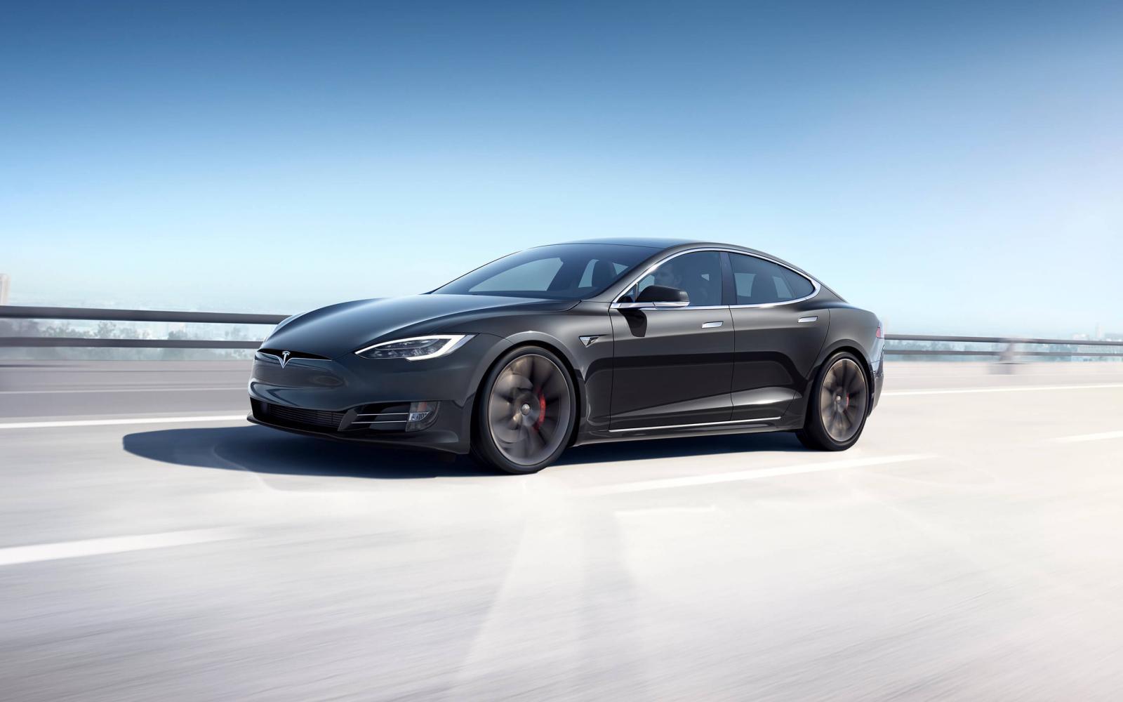 xe điện gia đình Tesla Model S