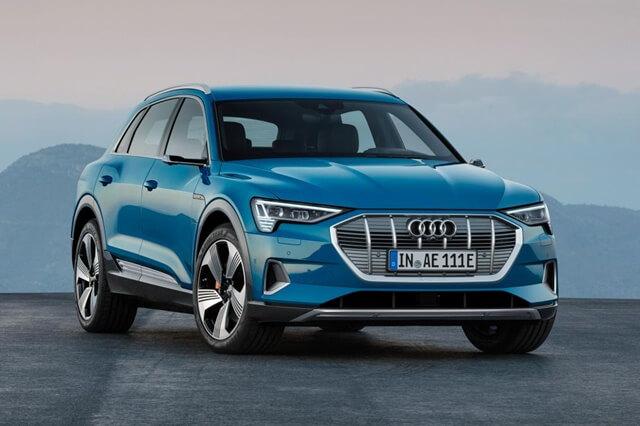 xe điện Audi mới