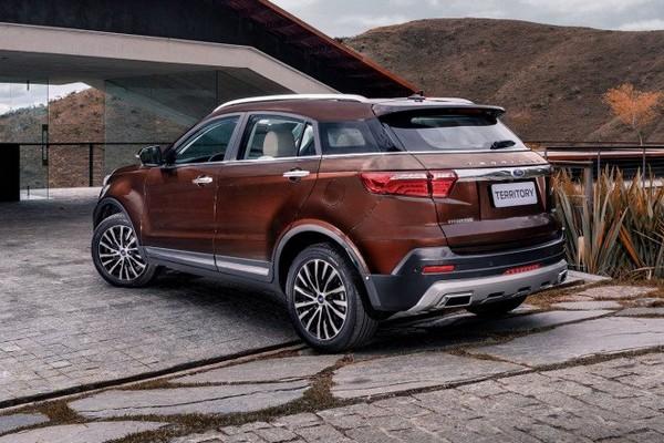 Mẫu Ford Territory tại Đông Nam Á có thể sẽ được nhập khẩu nguyên chiếc từ Trung Quốc