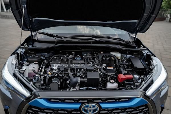 Corolla Cross được trang bị 2 phiên bản động cơ: xăng và hybrid