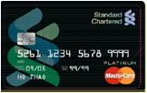 Ngân hàng StandardChartered - Thẻ Mastercard Platinum Cashback