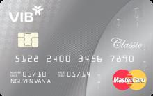 Ngân hàng VIB - Thẻ  Master Classcic