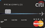 Ngân hàng Citibank - Thẻ Mastercard Premier Miles