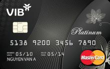 Ngân hàng VIB - Thẻ Master Platium Double Cash Back