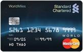 Ngân hàng StandardChartered - Thẻ Mastercard Worldmiles