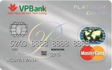 Ngân hàng VPBank - Thẻ VPBank Master Platinum
