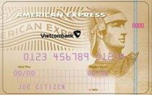 Ngân hàng VietcomBank - Thẻ American Express Hạng Vàng