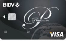 Ngân hàng BIDV - Thẻ Visa Platinum