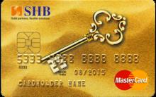 Ngân hàng SHB - Thẻ Master Vàng