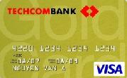 Ngân hàng Techcombank - Thẻ Visa Vàng