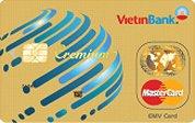 Ngân hàng VietinBank - Thẻ Cremium Mastercard Vàng