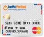 Ngân hàng LienVietPostBank - Thẻ Master Chuẩn