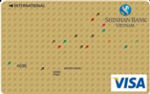 Ngân hàng ShinhanBank - Thẻ Visa Vàng