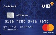 Ngân hàng VIB - Thẻ Master Platium Cash Back