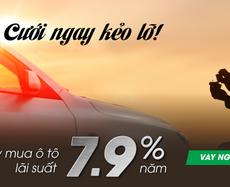 Vay mua ô tô với lãi suất chỉ từ 7,9%/năm tại VPBank