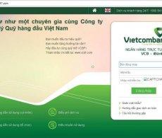 Website giả mạo ngân hàng Vietcombank đánh cắp tài khoản người dùng