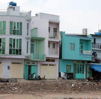 Nhà phố mini Sài Gòn giá hơn 100 triệu đồng mỗi m2