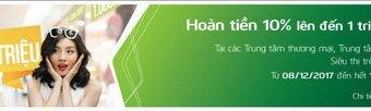 Vietcombank triển khai chương trình khuyến mãi ưu đãi tuyệt vời mùa mua sắm