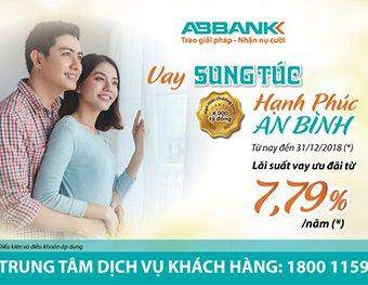 """""""Hạnh phúc an bình cùng ABBank ABBank ưu đãi lãi suất vay mua nhà, vay mua xe 2018 với chương trình:"""