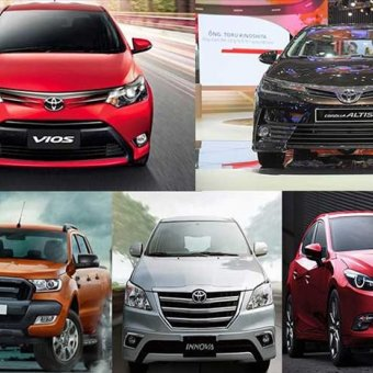 Top xe ô tô bán chạy nhất quý I/2018, có Honda CR-V