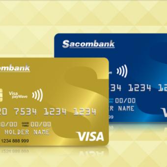 Ưu đãi đặc biệt cho khách hàng đăng kí thẻ tín dụng Sacombank trực tuyến