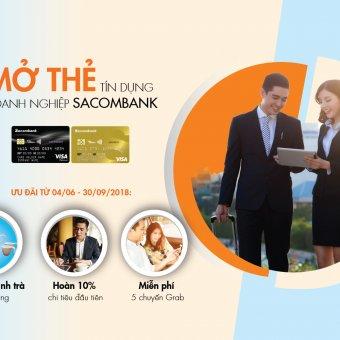 """Sacombank tung chương trình khuyến mãi lớn, giải thưởng """"khủng"""" hơn 21 tỷ đồng"""
