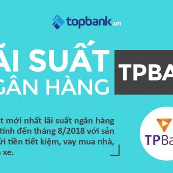 [Infographic] Cập nhật mới nhất lãi suất ngân hàng TPBank năm 2018