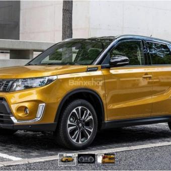 Suzuki Vitara 2019 cập nhật với sức mạnh cải tiến