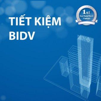 Thông tin dịch vụ gửi tiết kiệm hàng tháng BIDV