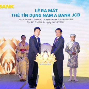 Ra mắt thẻ tín dụng Nam A Bank JCB, khách hàng nhận ngay ưu đãi mở thẻ cực lớn