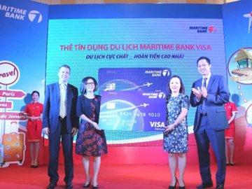 Maritime Bank ra mắt thẻ tín dụng du lịch được hoàn tiền đầu tiên tại Việt Nam