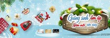 Giáng sinh ấm áp – Năm mới rộn ràng cùng thẻ SCB