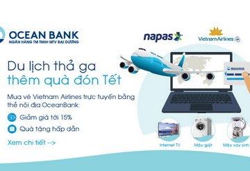 Dùng thẻ nội địa OceanBank – Du lịch thả ga, thêm quà đón Tết