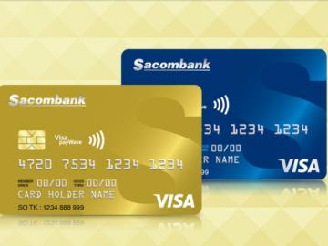 Các loại thẻ tín dụng Sacombank được sử dụng phổ biến nhất!
