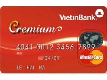 Thông tin chi tiết về các loại thẻ tín dụng VietinBank