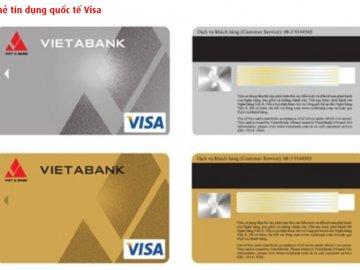 Các loại thẻ tín dụng quốc tế của ngân hàng VietABank