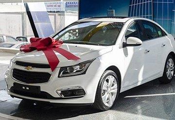 Mua xe Chevrolet Cruze trả góp 2018 hỗ trợ lãi suất ưu đãi
