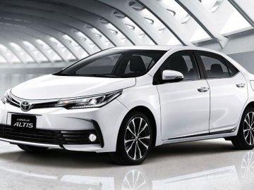 Thông tin vay mua xe Toyota Altis trả góp với lãi suất hấp dẫn nhất (năm 2019)