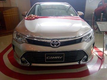 Ước tính chi phí vay mua xe Toyota Camry 2.5G trả góp (Năm 2019)