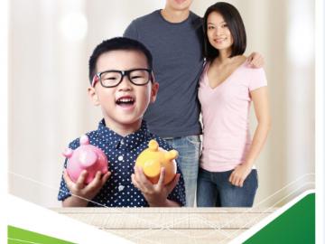 Những ưu điểm của sản phẩm gửi tiết kiệm cho con Vietcombank
