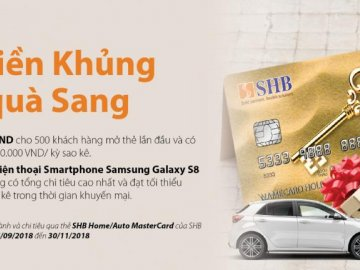 Phát hành thẻ tín dụng quốc tế dành cho khách hàng vay mua nhà và ô tô ...