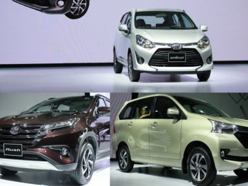 Vay mua xe Toyota trả góp 2018: Wigo, Rush, Avanza