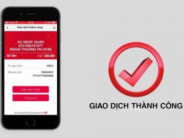 Miễn phí chuyển tiền từ Techcombank sang ngân hàng khác qua E - Banking