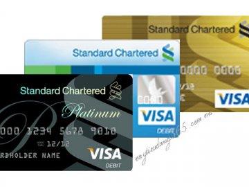 Lãi suất thẻ tín dụng standardchartered hiện nay là bao nhiêu?