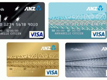 Cập nhật lãi suất thẻ tín dụng anz chính xác nhất