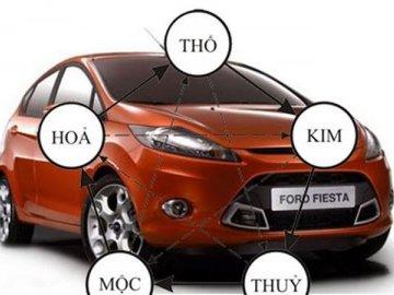 Chọn màu xe theo mệnh như thế nào cho đúng?